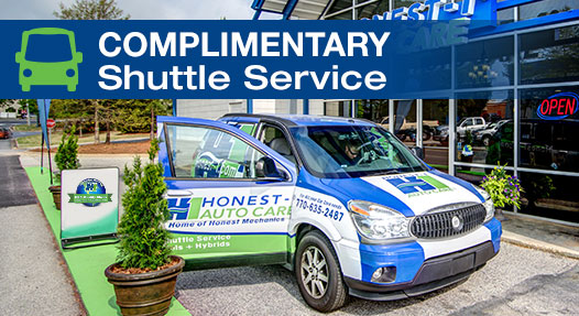 Honest-1 Auto Care Loveland - shuttle